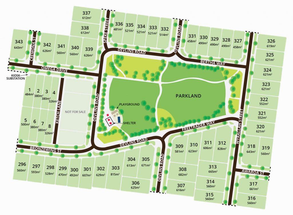 Oakdene Estate Stage 7 plans