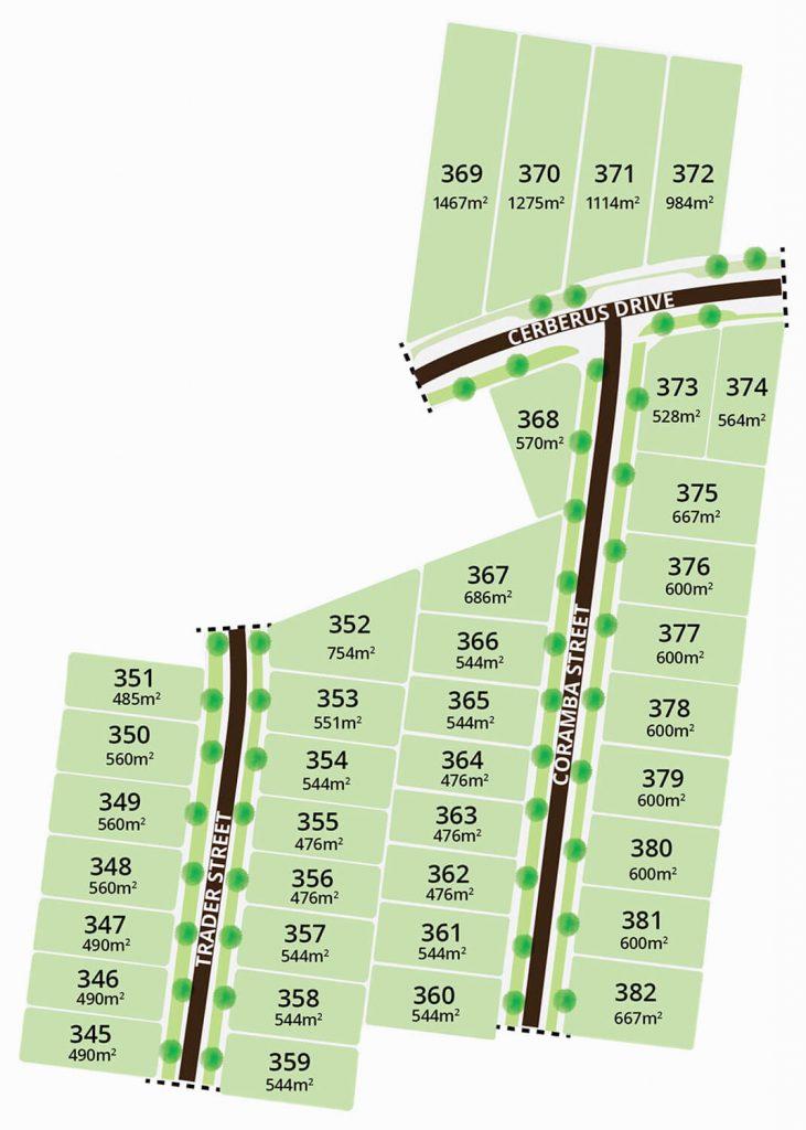 Oakdene Estate Stage 8 plans