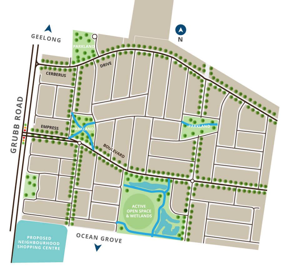 estate-map-padestrion-park-paths